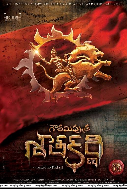 The makers of Gautamiputra Satakarni unveiled the films first poster