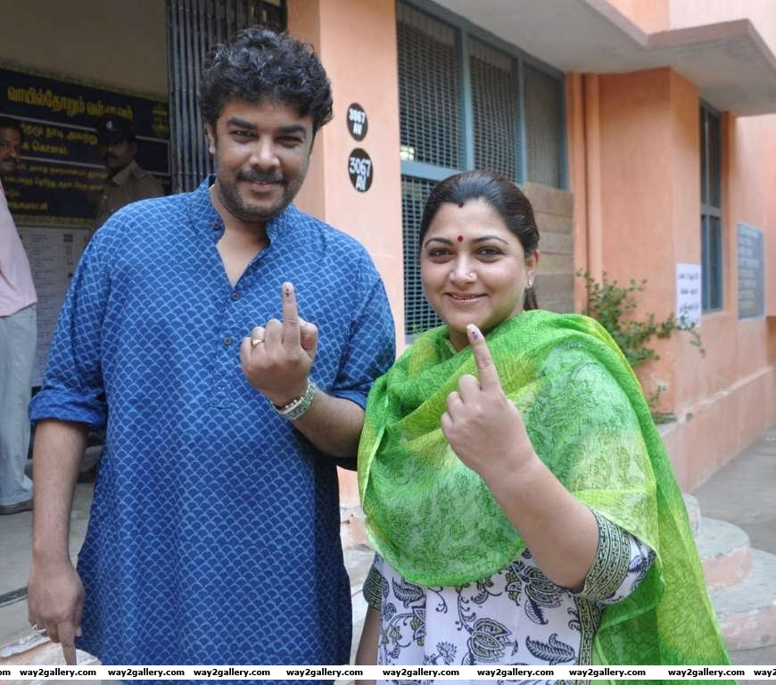 Together they manage their production houses and while Kushboo is not so active on the big screen shes carved a niche for herself in TV Kushboo and Sundar have two teenage daughters