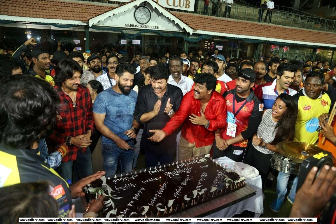 Vikram celebrated his th birthday during the event