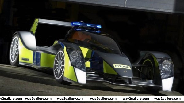 Awesome police rapid response car