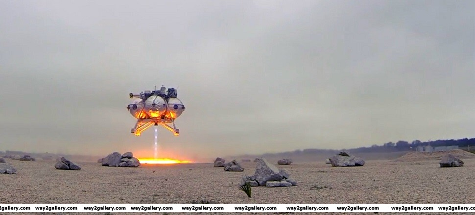 Nasas new spaceship morpheus being tested in area 51 usa