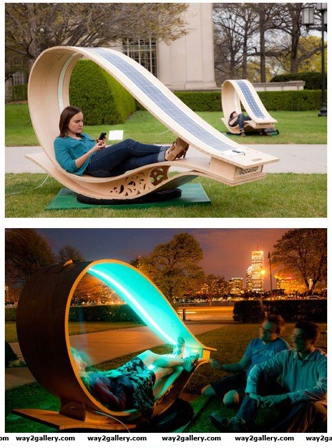 Solar powered soft rockers solar energy soft rockers amazing technology amazing pictures